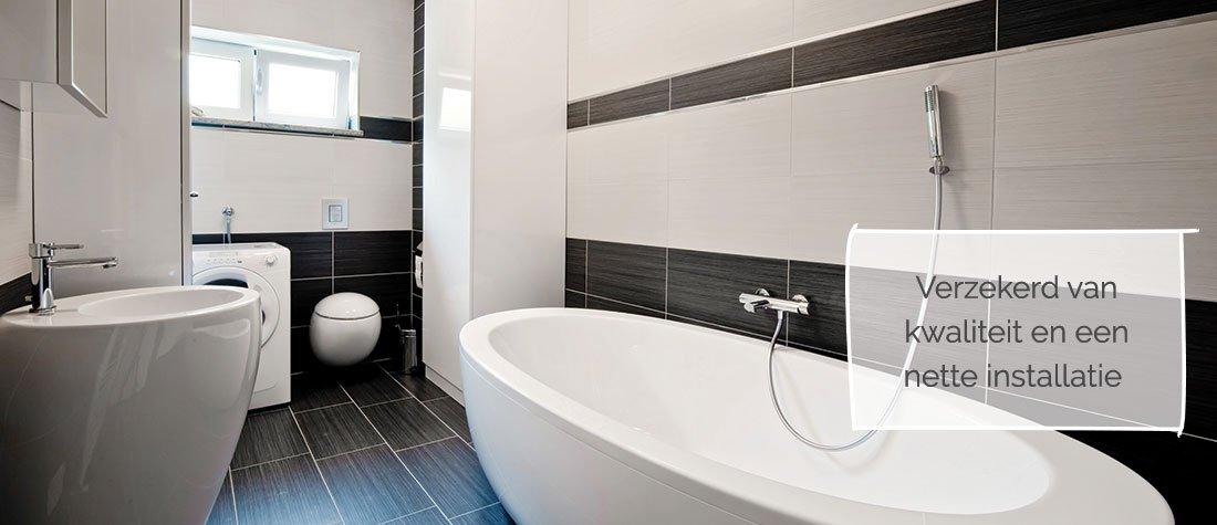 Badkamer verbouwen door de installateur uit Lobith (Zevenaar)